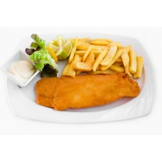 BUTTERED FISH (BREADED HAKE)