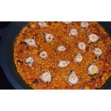 Paella de Pulpo / Octopus Paella