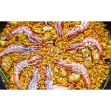 Arroz con Langostinos del Mar Menor/with Prawns from Mar Menor