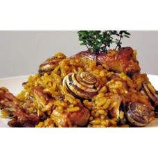Arroz con Conejo y Caracoles / Rabbit and Snails Paella