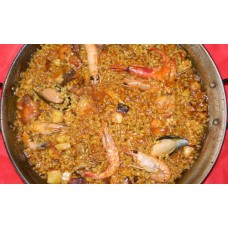 Paella Mixta de Pollo y Marisco/Mixed Chicken and Seafood